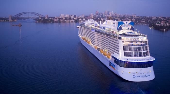 Ovation of the Seas Arriving in Australia